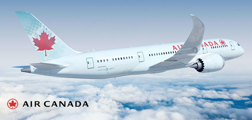 Air Canada banner