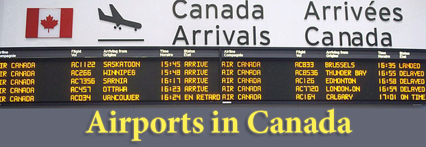 Airports in Canada