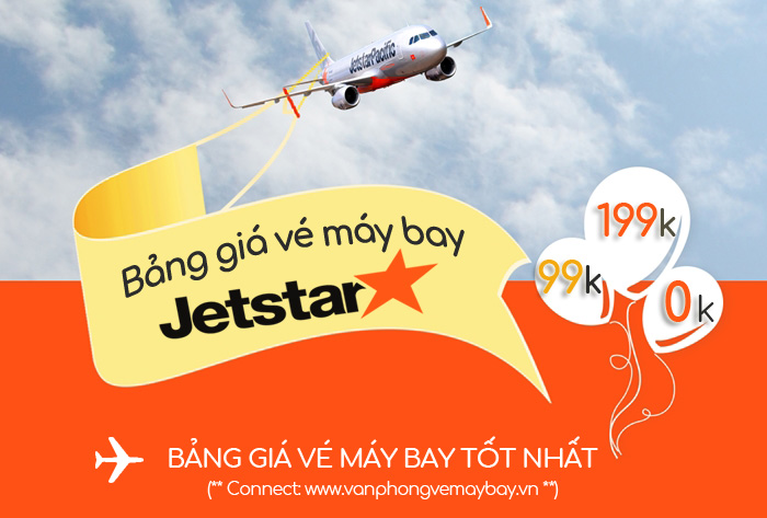 Bảng giá Jetstar Pacific