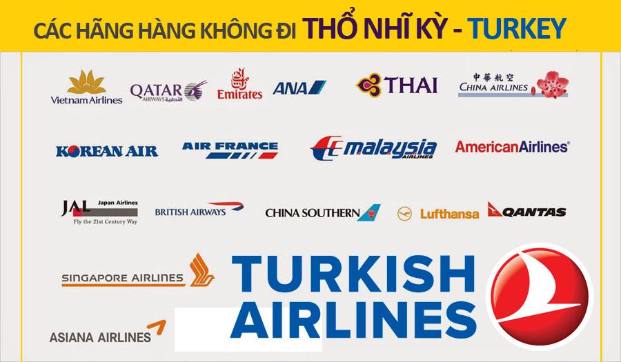 Hang hang khong di Tho Nhi Ky Turkey