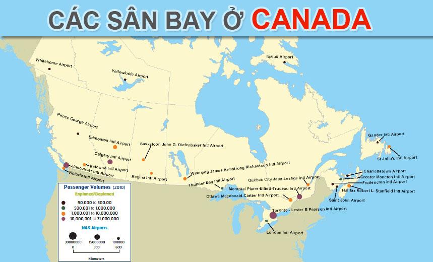 Các sân bay Canada