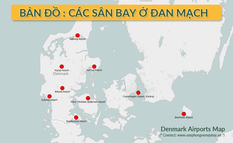 Các sân bay ở Đan Mạch
