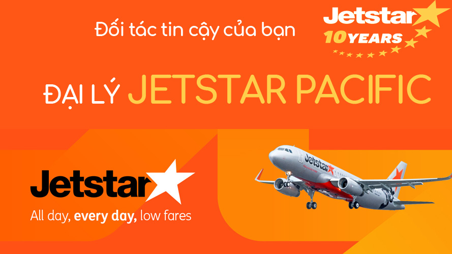 Dai ly Jetstar Pacific Agent