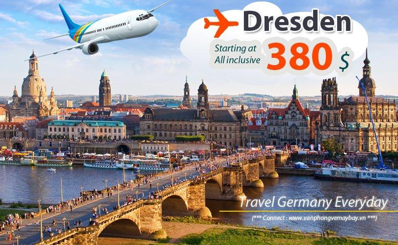 Đặt vé máy bay đi Dresden (Đức) giá rẻ