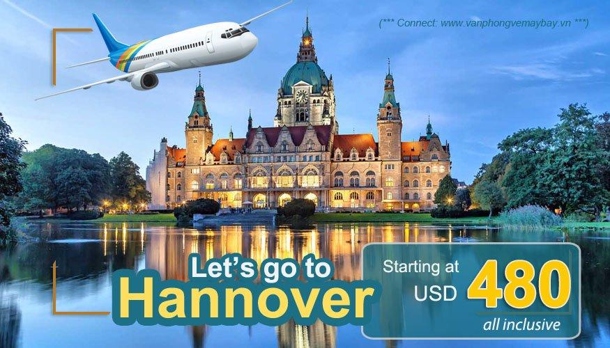 Vé máy bay đi Hannover giá rẻ