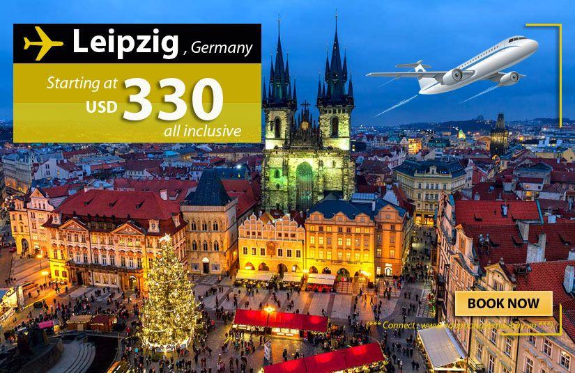 Đặt vé máy bay đi Leipzig (Đức) giá rẻ