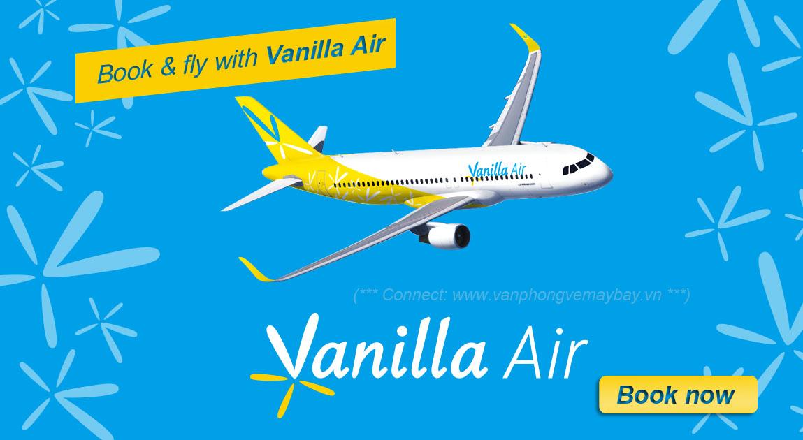 Đặt mua vé Vanilla Air giá rẻ