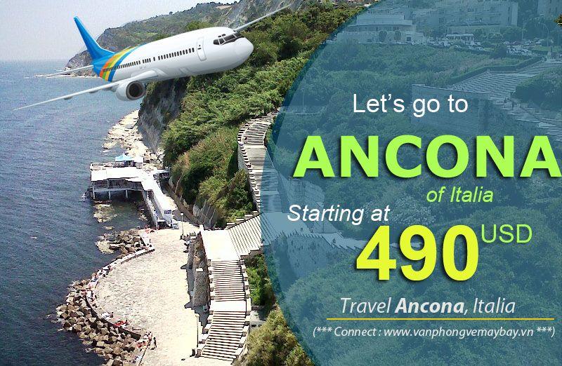 Đặt vé máy bay đi Ancona (Italia) giá rẻ