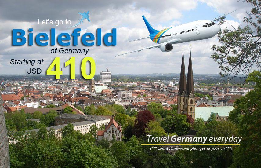 Vé máy bay đi Bielefeld giá rẻ