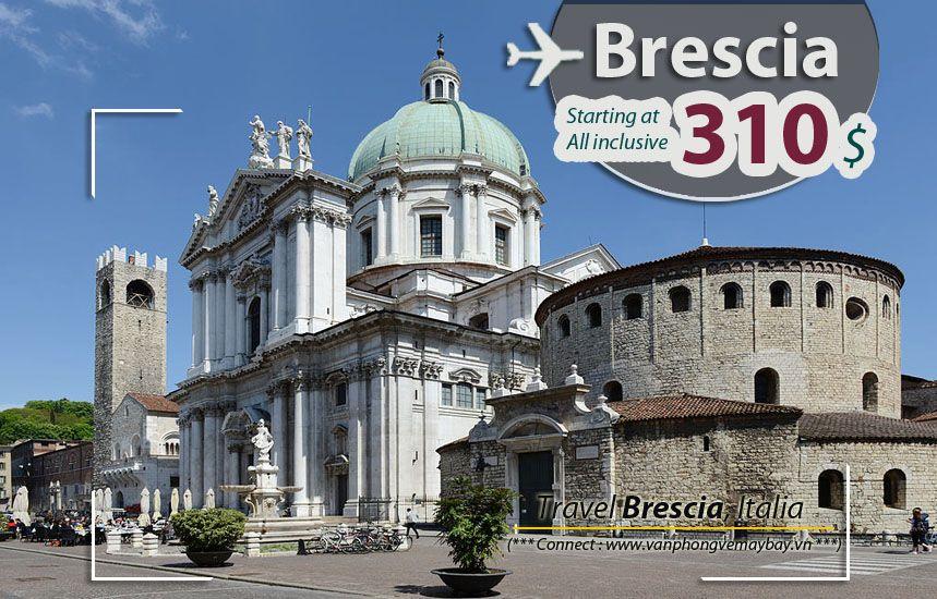 Đặt vé máy bay đi Brescia (Italia) giá rẻ