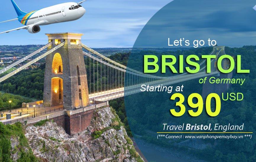 Đặt vé máy bay đi Bristol (Anh) giá rẻ