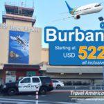 Vé máy bay đi Burbank