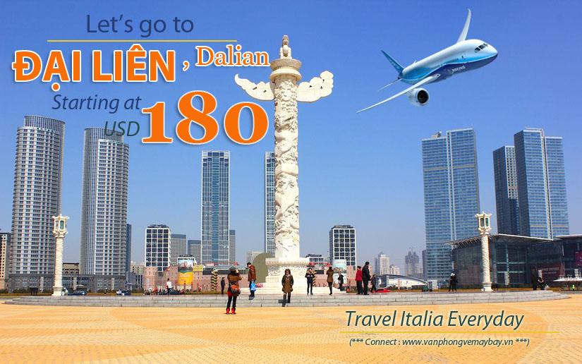 Đặt vé máy bay đi Đại Liên (Dalian) giá rẻ