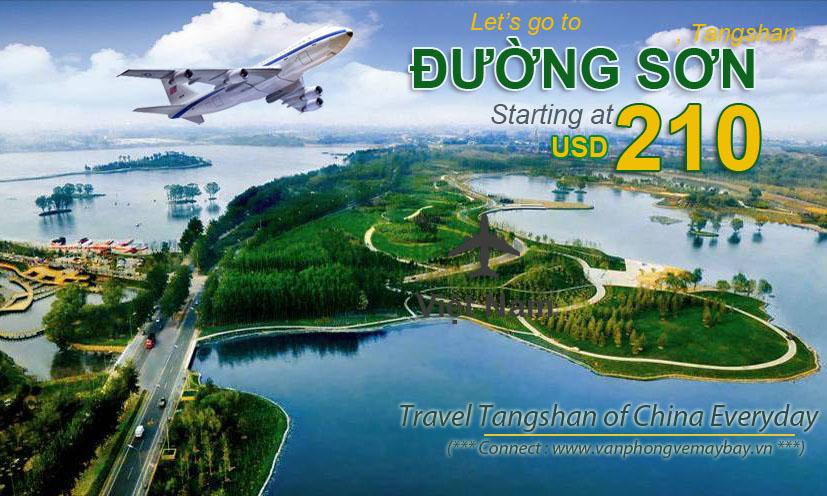 Đặt vé máy bay đi Đường Sơn (Tangshan) giá rẻ