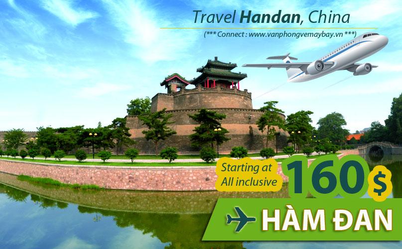 Đặt vé máy bay đi Hàm Đan (Handan) giá rẻ
