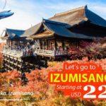 Ve may bay di Izumisano
