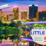Vé máy bay đi Little Rock