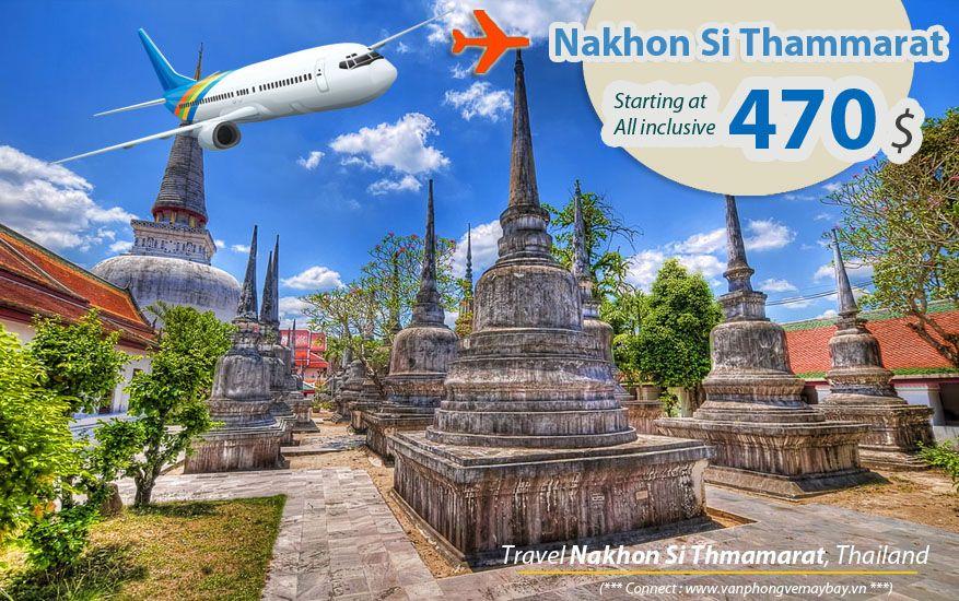 Đặt vé máy bay đi Nakhon Si Thammarat (Thái Lan) giá rẻ