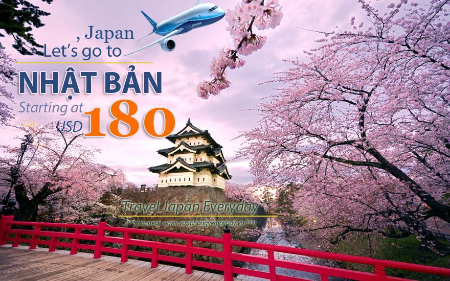 Đặt vé máy bay đi Nhật Bản (Japan) giá rẻ
