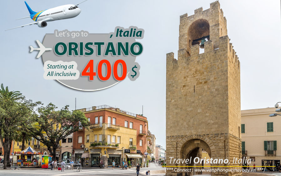 Đặt vé máy bay đi Oristano (Italia) giá rẻ