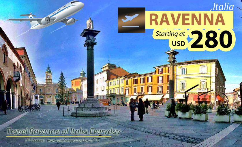Đặt vé máy bay đi Ravenna (Italia) giá rẻ