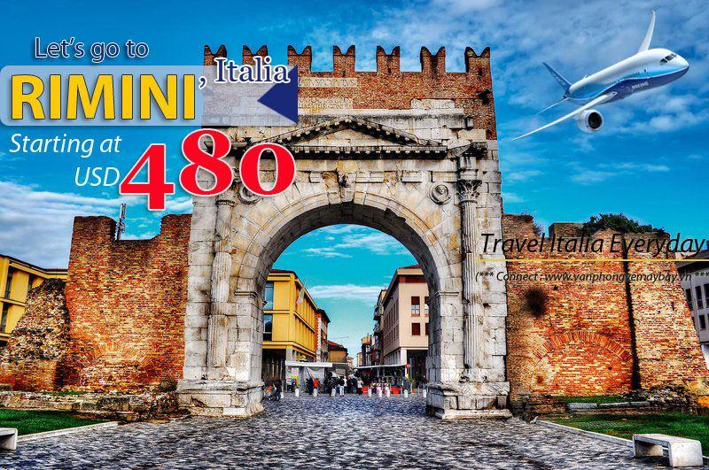 Đặt vé máy bay đi Rimini (Italia) giá rẻ