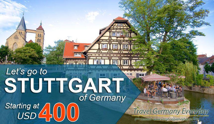 Đặt vé máy bay đi Stuttgart (Đức) giá rẻ