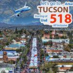 Vé máy bay đi Tucson giá rẻ