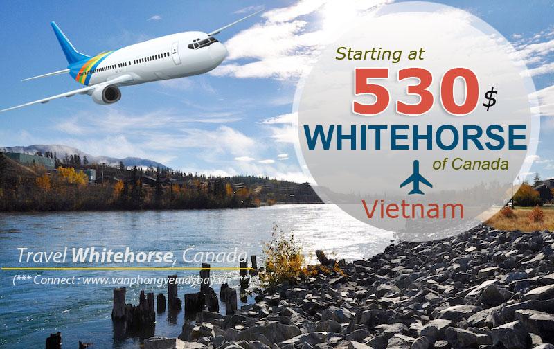 Vé máy bay đi Whitehorse giá rẻ