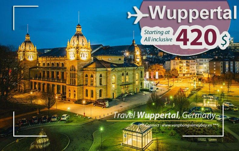 Đặt vé máy bay đi Wuppertal giá rẻ