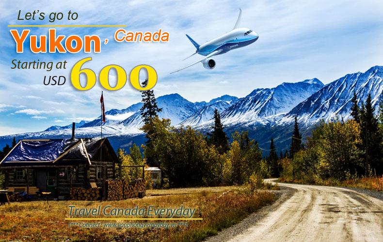 Vé máy bay đi Yukon giá rẻ