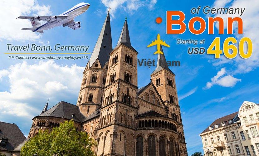 Vé máy bay đi Bonn giá rẻ
