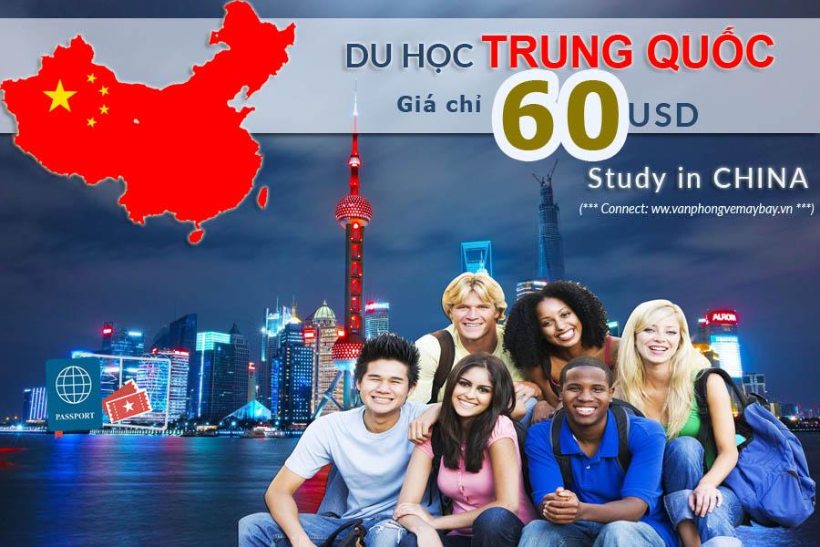 Vé máy bay đi du học Trung Quốc