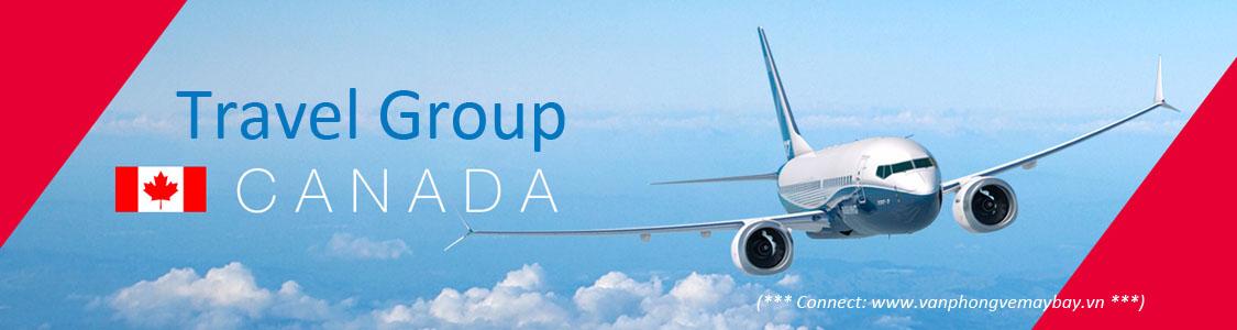 Đặt vé máy bay đoàn đi Canada giá rẻ