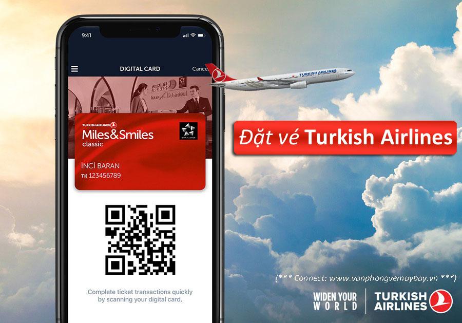Đặt vé Turkish Airlines giá rẻ