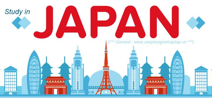 Đặt vé đi du học Nhật Bản