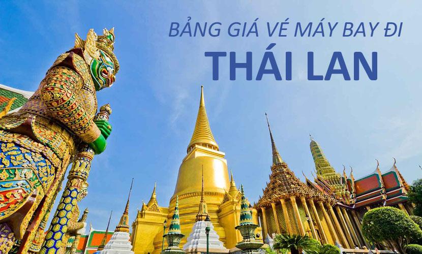 Giá vé máy bay đi Thái Lan