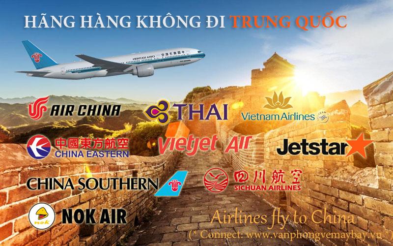 Hãng máy bay đi Trung Quốc