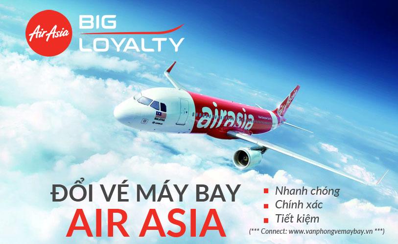 Đổi vé Air Asia