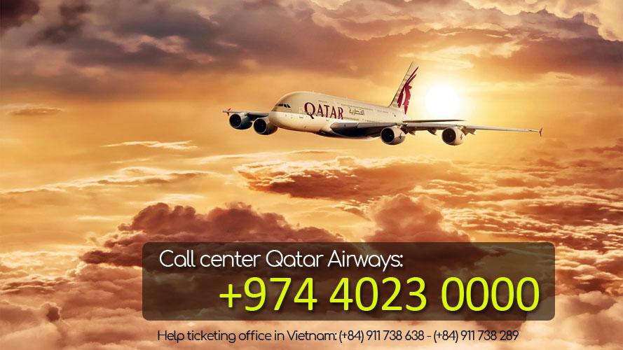 So dien thoai tong dai Qatar Airways