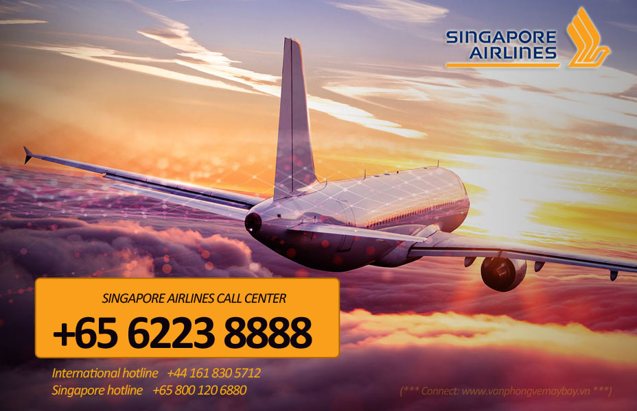 Số điện thoại tổng đài đặt vé Singapore Airlines