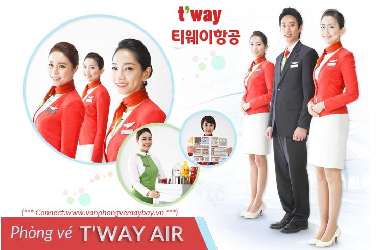 Phòng vé T'way Air