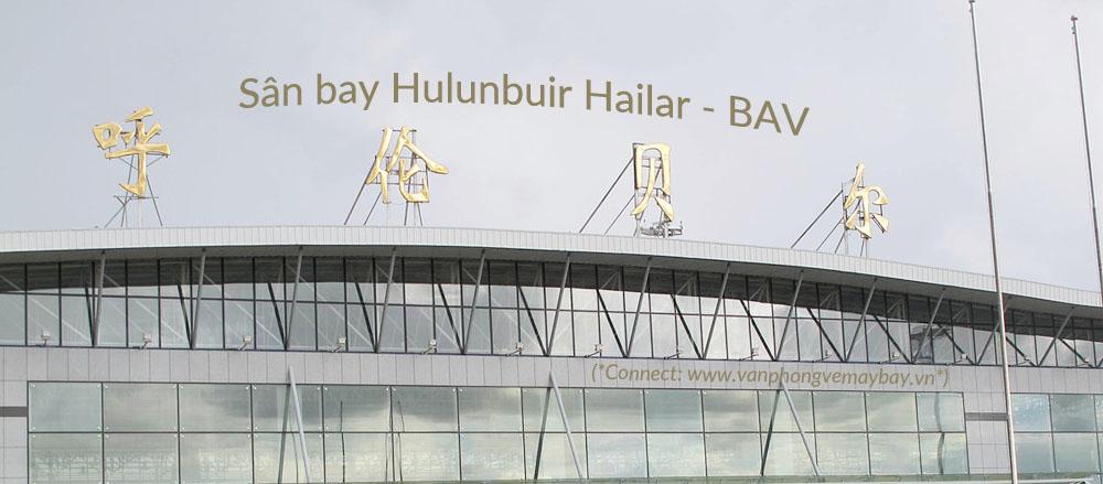 San bay Hulunbuir Hailar Airport