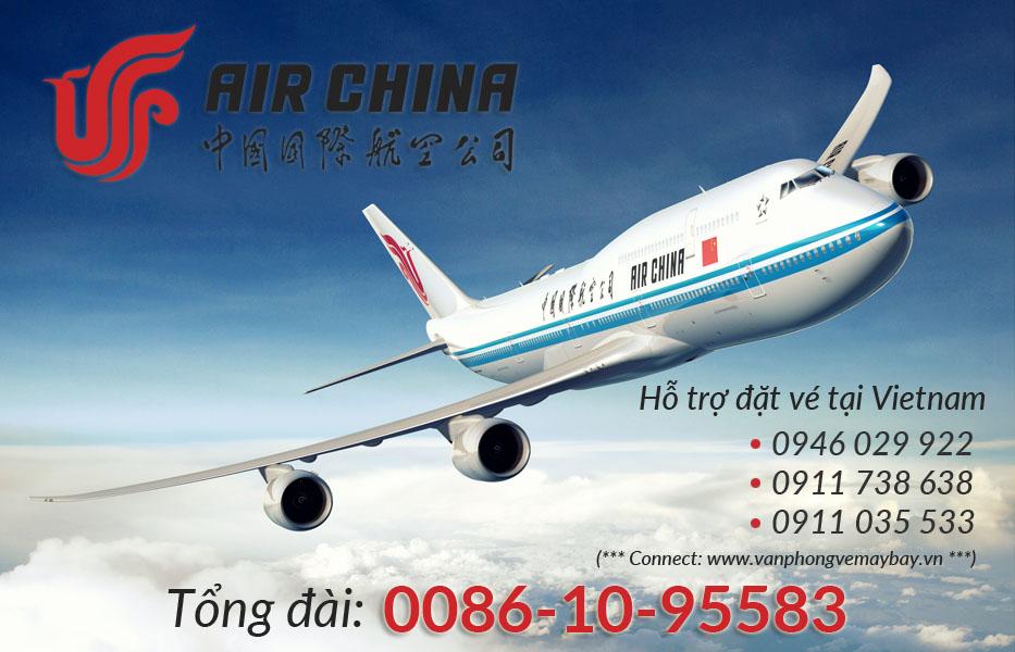Số điện thoại tổng đài Air China