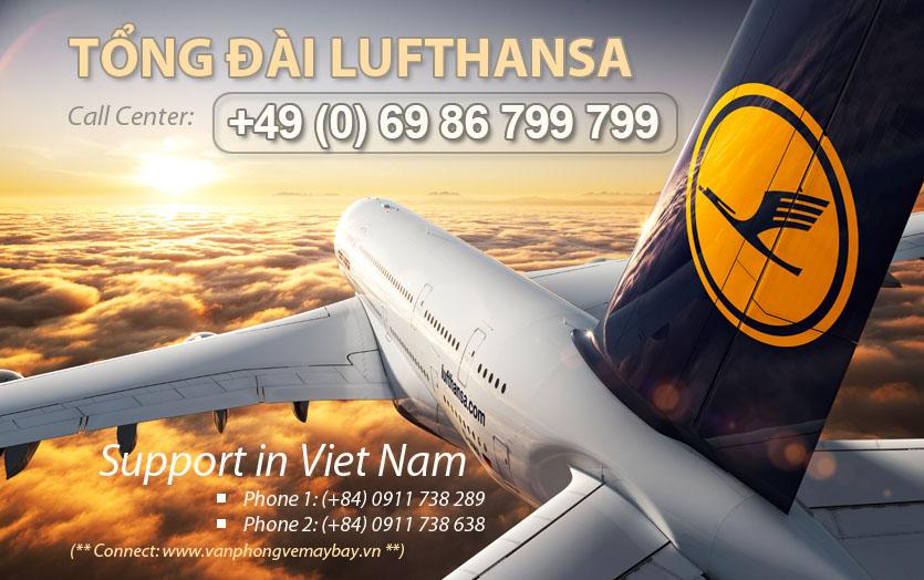 Số điện thoại tổng đài đặt vé Lufthansa