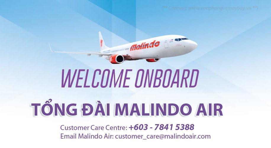 Số điện thoại Malindo Air