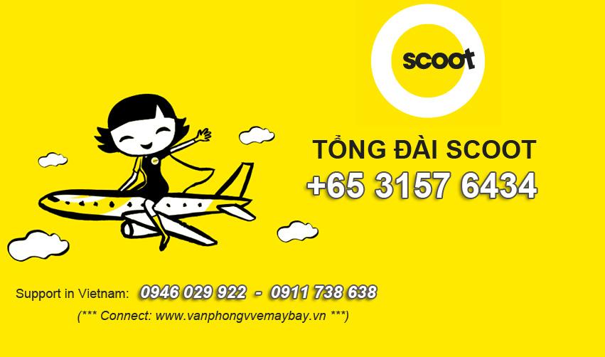 Số điện thoại tổng đài Scoot