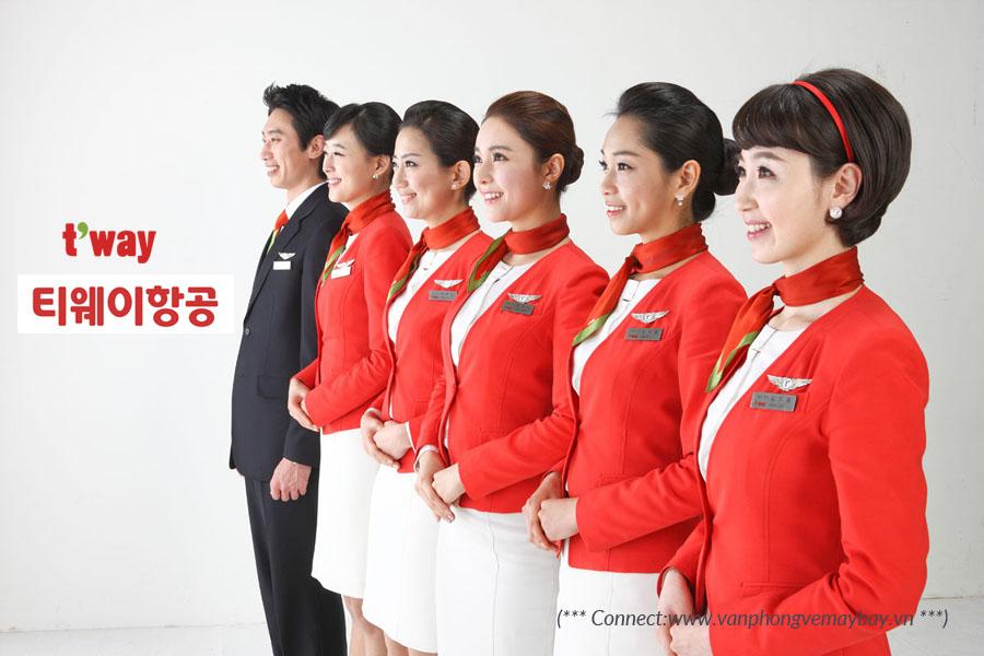 Tổng quan hãng hàng không T'way Air