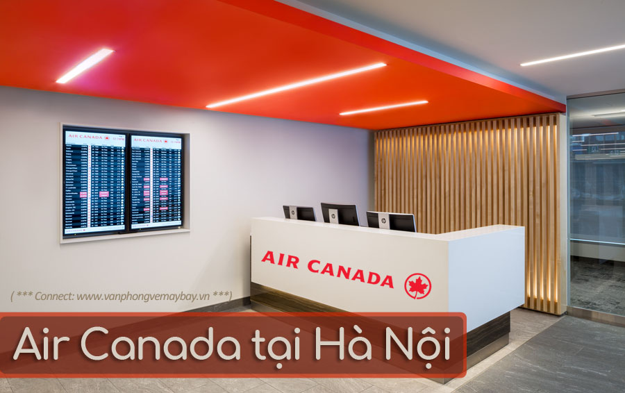 Van phong ban ve Air Canada Ha Noi office