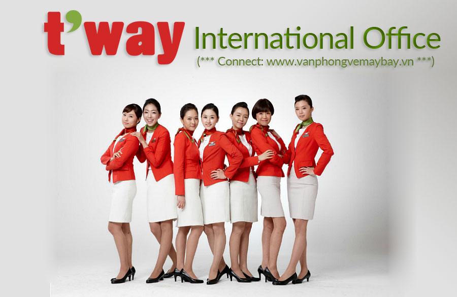 Văn phòng đại diện T'way Air